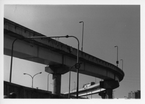 #200 Darkroom print - Loop of the express hway   Flickr - Photo ...   black and white film photo   Scoop.it