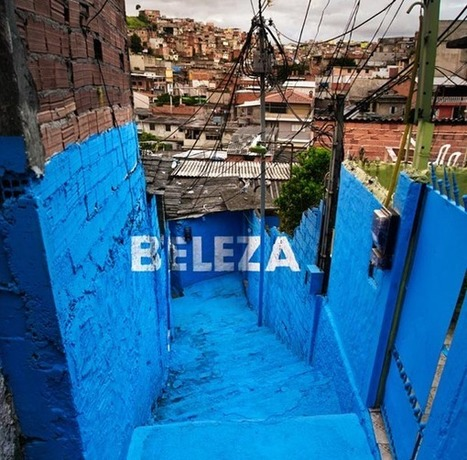 Brazilian Suburb Gets Perspective Typography Murals | open-ended processes | Scoop.it