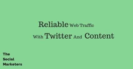 Twitter and Content for Reliable Social Media Traffic | Web Marketing | Scoop.it