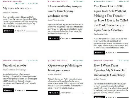The Winnower | Open Scholarly Publishing | Open access in science | Scoop.it