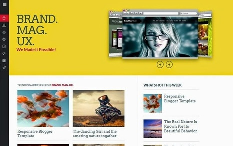Best Free Responsive Blogger Templates for 2016 | Blogs, Blogging tips, Staying healthy while blogging | Scoop.it
