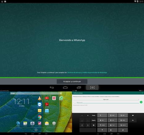 Cómo utilizar WhatsApp en un iPad o tablet Android | Mobile Technology | Scoop.it