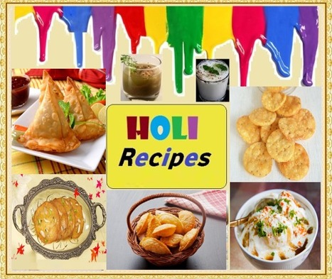Celebrate Festival with Traditional Holi Recipes | Motherhood | Scoop.it