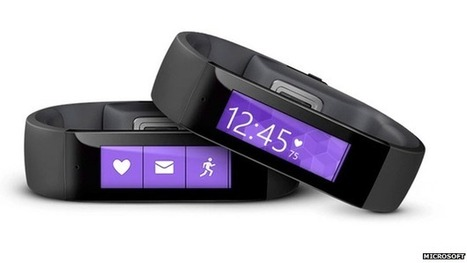 Microsoft unveils fitness band   Wearable Tech & Innovative Sports Gear   Scoop.it
