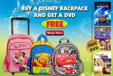 Buy Disney Backpack and Get Disney DVD Absolutely Free   Disney Store   Scoop.it