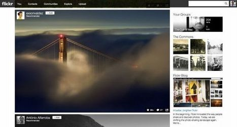 Yahoo Unveils Complete Redesign Of Flickr, Now Offering 1TB Of Free Storage   Learning, Teaching & Leading Today   Scoop.it