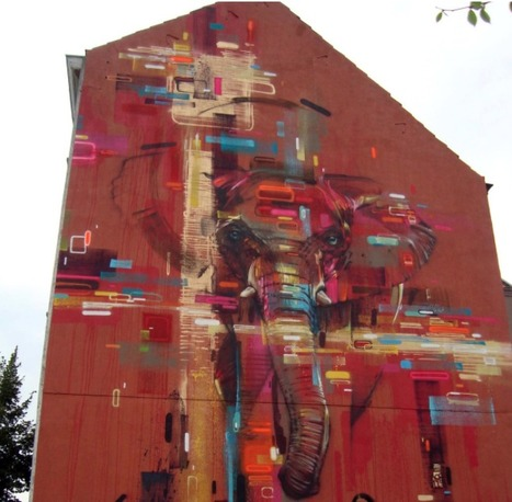 Street Art by Steve Locatelli in Brussels, Belgium. | World of Street & Outdoor Arts | Scoop.it