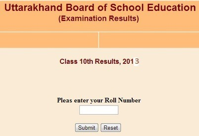Uttarakhand board (UA Board) official website http://uaresults.nic.in/ is not showing result due to server error | Jobs1234 | Scoop.it