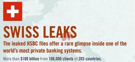 SwissLeaks: l'enquête data s'importe lentement en France | DocPresseESJ | Scoop.it
