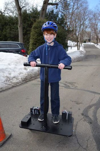 $400 Rideable Segway Clone - Low Cost and Easy Build, with arduino, motors and sensors - Tech And Geek | Raspberry Pi | Scoop.it