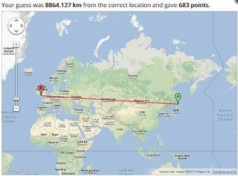 Educació i les TIC: GeoGuessr: localitzem llocs de manera divertida? | TIC TAC a l'escola | Scoop.it