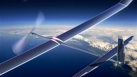 Facebook, droni solari per connettere l'Africa. Sfida nei cieli con Google   Comunicazione e Informatica   Scoop.it