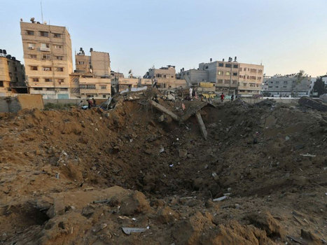Israel-Gaza conflict: 25 Palestinians killed as Israel launches largest ... - The Independent   Conflict and Prejudice   Scoop.it