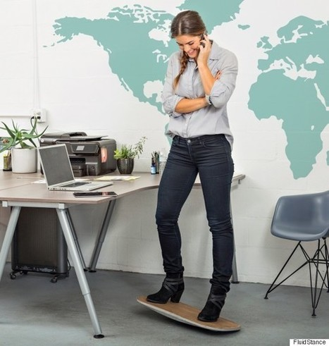 The Desk Chair Of The Future Is Not A Chair At All | Xposing e-commerce, fashion & unique items. | Scoop.it