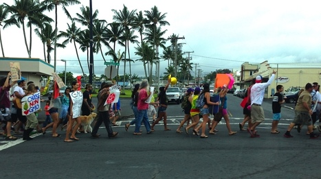 'March to Evict Monsanto' Sees Large Turnout - Big Island Now | Plant Based Transitions | Scoop.it