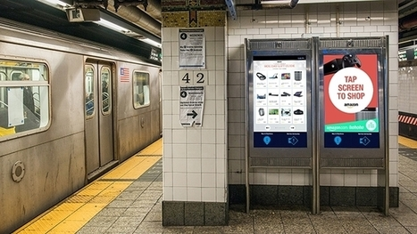 N.Y. Subway Riders Can Now Shop on Amazon While Underground | Opstimisme engagé et innovation | Scoop.it