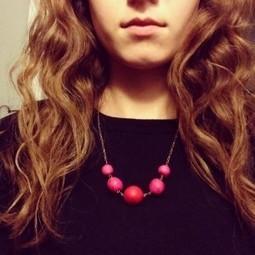 DIY Jewelry - How To Make A Clay Bead Necklace | DwellAndCraft.com | DwellandCraft | Scoop.it