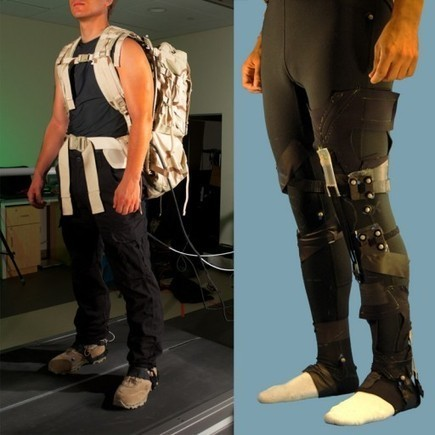 DARPA's human-augmentation suit | KurzweilAI | Augmented, Alternate and Virtual Realities in Higher Education | Scoop.it