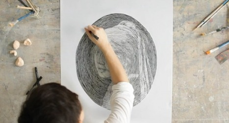 L'art de tourner en rond ! | freehand illustration and graphic design | Scoop.it
