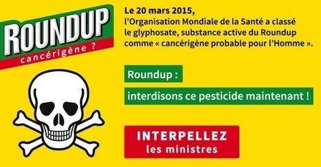 PÉTITION – Roundup : interdisons ce pesticide maintenant !   Roundup Non Merci   Home   Scoop.it