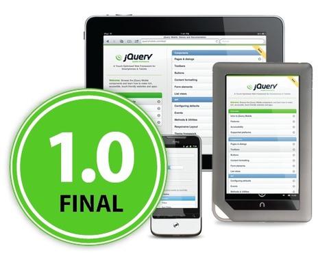 Announcing jQuery Mobile 1.0 | jQuery Mobile | La veille du WebDeveloper | Scoop.it