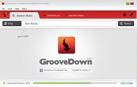 GrooveDown, aplicación para descargar canciones de GrooveShark | Addict to technology | Scoop.it