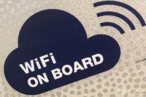 Prise en main : Air France lance son offre WiFi à bord | Tourisme et Tendances | Scoop.it