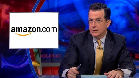 "Stephen Colbert is ""mad prime"" at Amazon for delaying the purchase of his books 