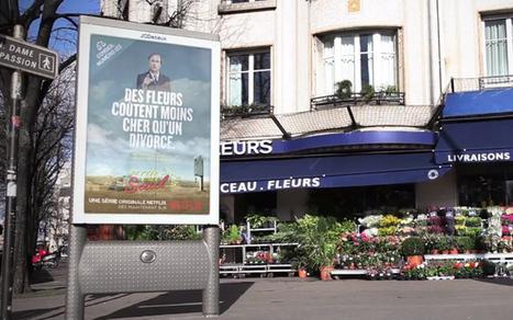 Paris : Netflix affiche 50 conseils contextualisés à la limite de la loi | Creative marketing ideas | Scoop.it