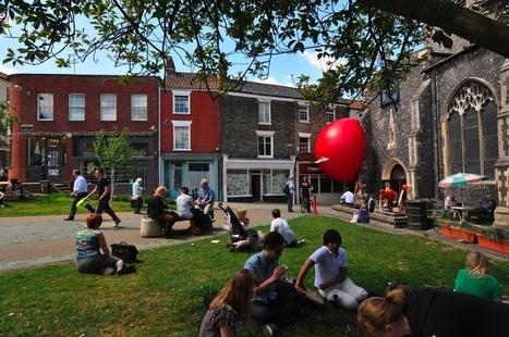 Kurt Perschke: RedBall Soon in Leuven! | World of Street & Outdoor Arts | Scoop.it
