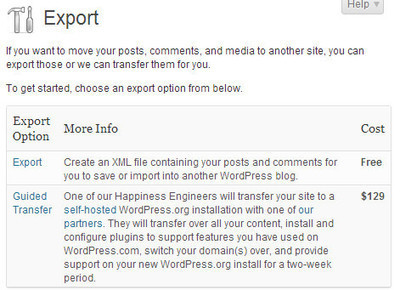 Comment Migrer Votre Blog de WordPress.com vers un autre blog — BlogPasCher | Au fil du Web | Scoop.it