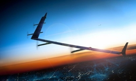 Facebook successfully tests solar drones in UK skies | Military Aviation & Technology | Scoop.it