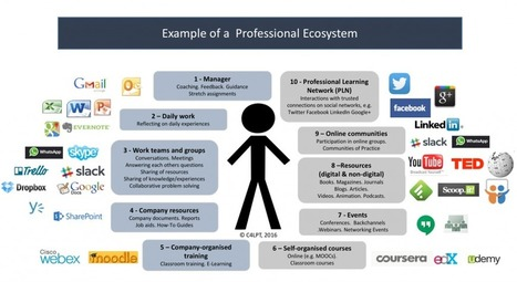 The Future of Work and Learning 1: The Professional Ecosystem | elearningeducation | Scoop.it