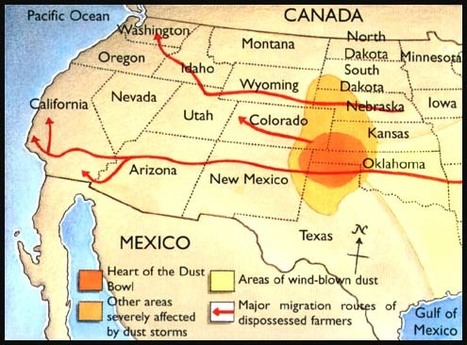Tracking The Dust Storm (Primary Document #3) | Depression In the Great Plains | Scoop.it
