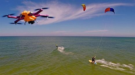 AirDog Drone – A Drone That Follows and Records Your Activity - GadgetPress | GadgetPress | Scoop.it