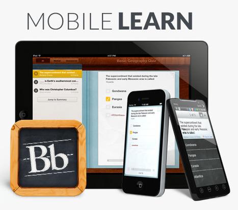 Blackboard Mobile   Portal   Mobile Learning (whatever, whenever, wherever)   Scoop.it