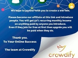 How to use Perkfluence in 3 Easy steps on Crowdify Tech – Part 3 « Blog Biz Buzz | Social Media and Mobile Websites | Scoop.it