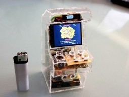 Raspberry Pi micro arcade MAME gaming machine undoubtedly fits in your pocket! | Raspberry Pi | Scoop.it