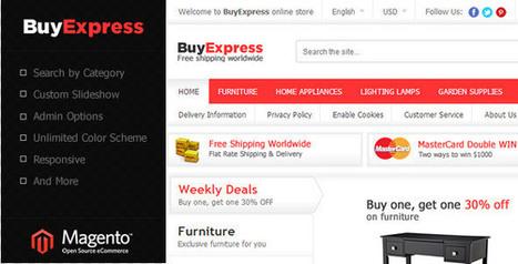 Download BuyExpress eCommerce Magento Theme | EmBlogger.com | EmBlogger.com | Scoop.it