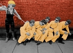 PHOTO: DEVO with Blondie | SongsSmiths | Scoop.it