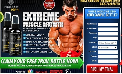 Prolexin IGF-1 Review - 100% Free Trial Only Here | Boost Your Stamina and Strength! | Scoop.it