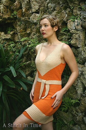 Knitting Yarn Explores Body Conscious Knitting Patterns for Dresses ... | Fiber Arts | Scoop.it