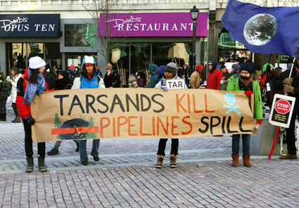 Hundreds Rally Against Proposed Tar Sands Pipeline | EcoWatch | Scoop.it