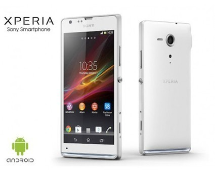 Buy Sony Xperia SP Android Smart Phone (White) Online India Best Price | Daily Shopping Deals | Scoop.it