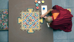 Mandala dei Monaci Tibetani: photogallery (da internet) | yemaya ... | yemaya naturopatia counseling e coaching | Scoop.it