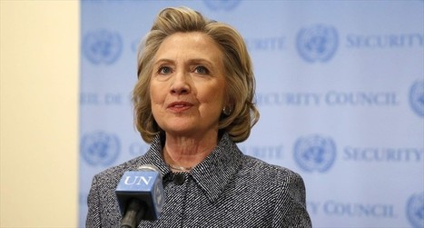 #liar Hillary #Clinton: I used personal email 'as a matter of convenience' #cover-up #fraud #banksters | USA the second nazi empire | Scoop.it