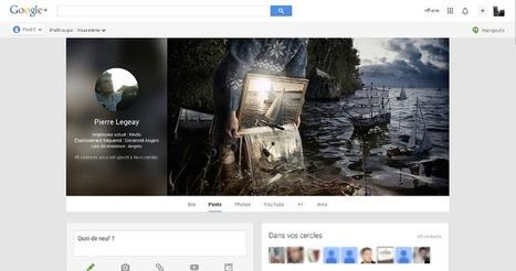 Google+ évolue encore ! - Pierre Legeay | Webmarketing | Scoop.it