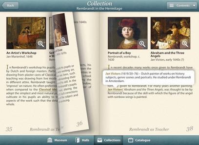 L'application Universal Hermitage Museum guide désormais les visiteurs sur iPad | Art and museums | Scoop.it