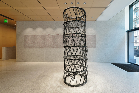 Vicent Barré: Branches column | Art Installations, Sculpture, Contemporary Art | Scoop.it