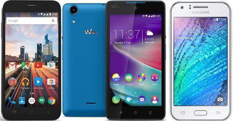 Guide d'achat 2016 des meilleurs smartphones à moins de 100 euros | Geeks | Scoop.it